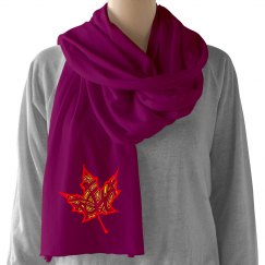 Fire Leaf Scarf