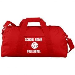 Cal High Volleyball Bag