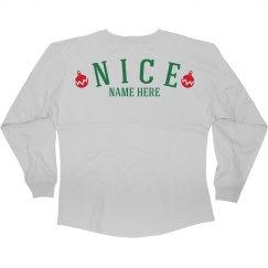 Nice Christmas Custom Girl