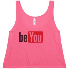 be YOU YouTube Tee