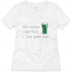 Green Beer Rumors