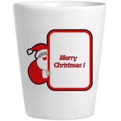 Merry Christmas Shotglass