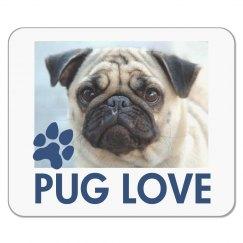 Pet Pug Mousepad