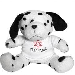 Christmas Snowflakes Teddy Bear