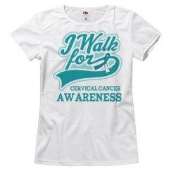 Cervical Cancer Walk Logo