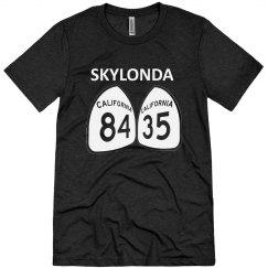 Skylonda - white ink