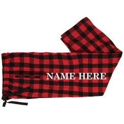 Family Matching Pajamas Custom Name