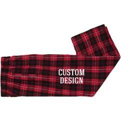 Youth Custom Christmas Flannels
