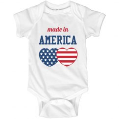 Made In America Baby!