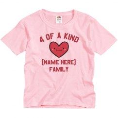 Custom Family Valentine Design