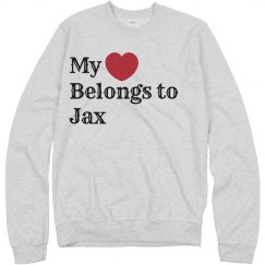 Heart belongs to Jax