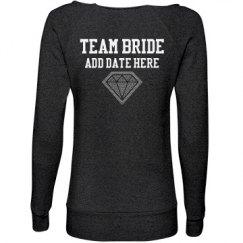Custom Team Bride Rhinestone Sweats