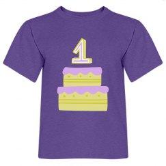 1ST Birthday Tee
