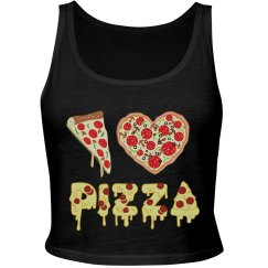 I Love Pizza top