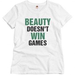 Beauty doesn't win games