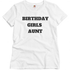 Birthday girls aunt