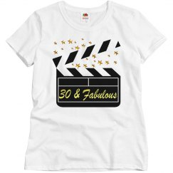 30 AND FABULOUS MOVIE STAR