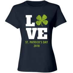 Irish Love Rhinestones