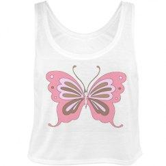 Pretty Butterfly Tank