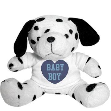Baby Boy Dalmation Plush