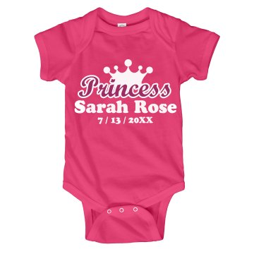 Baby Princess Announce