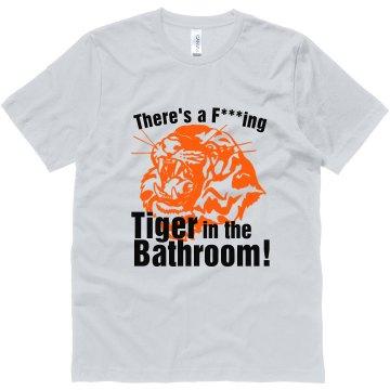 Bachelor Tiger Bathroom