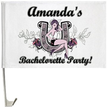 Bachelorette Part Flag