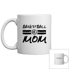 Personalize basketball mom mug