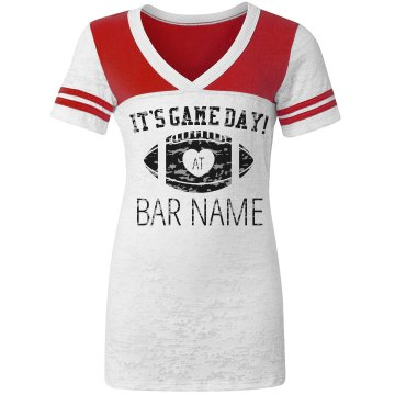 Bar Game Day Design