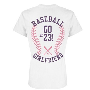 Baseball Girlfriend Pink