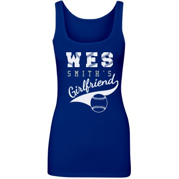 Baseball Girlfriend Tank