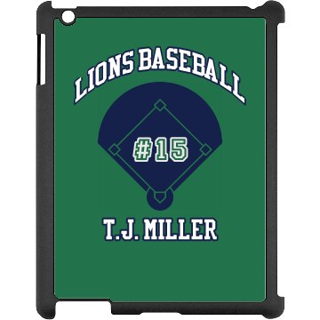 Baseball iPad Case