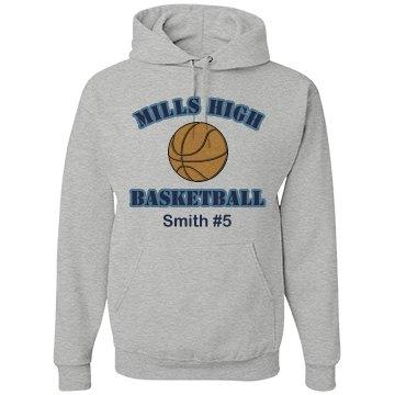 Basketball Hoodie Design