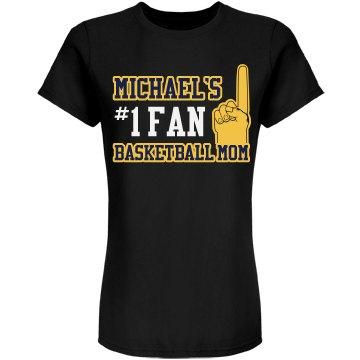 Basketball Mom Custom Shirt