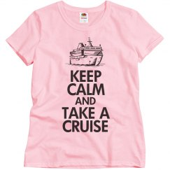 Keep calm take a cruise