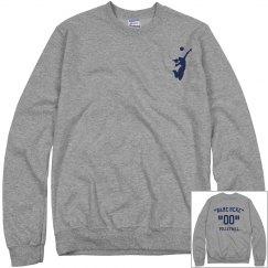 Customize volleyball sweatshirt