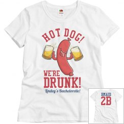 Budget Priced Funny Baseball Bachelorette Shirt BMaids