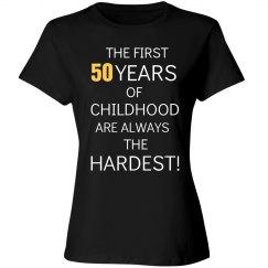 50 years of childhood