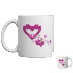 Pretty Pink Survivor Mug