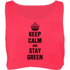 Keep calm and stay green