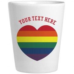 Create Your Rainbow Shot Glass