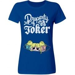 Property Of Joker Baby Harley Blue
