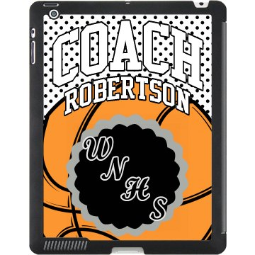 B-Ball Coach iPad Case