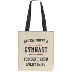 Gymnast knows all