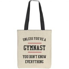 Gymnast knows all
