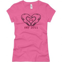 Heart Hands Love Tee