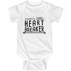 mom's little heart breaker