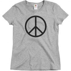Peace Please Rhinestones