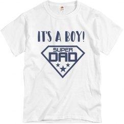 Its a Boy Dad Tee