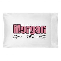 Morgan pillow case